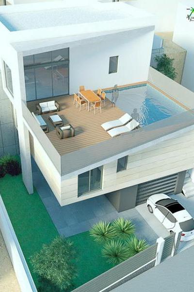 Design vrijstaande villa in Rojales
