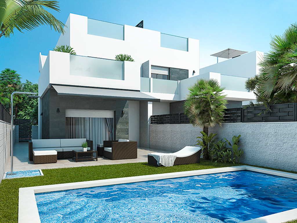Moderne villas aan de Costa Blanca