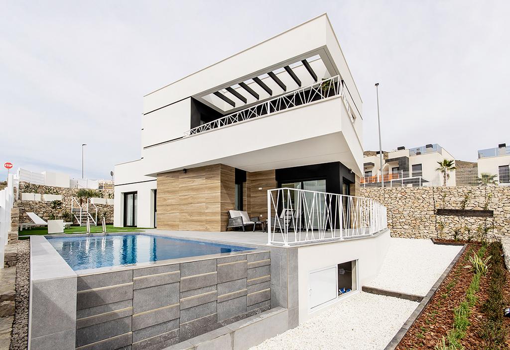Villa met uitzicht op Benidorm