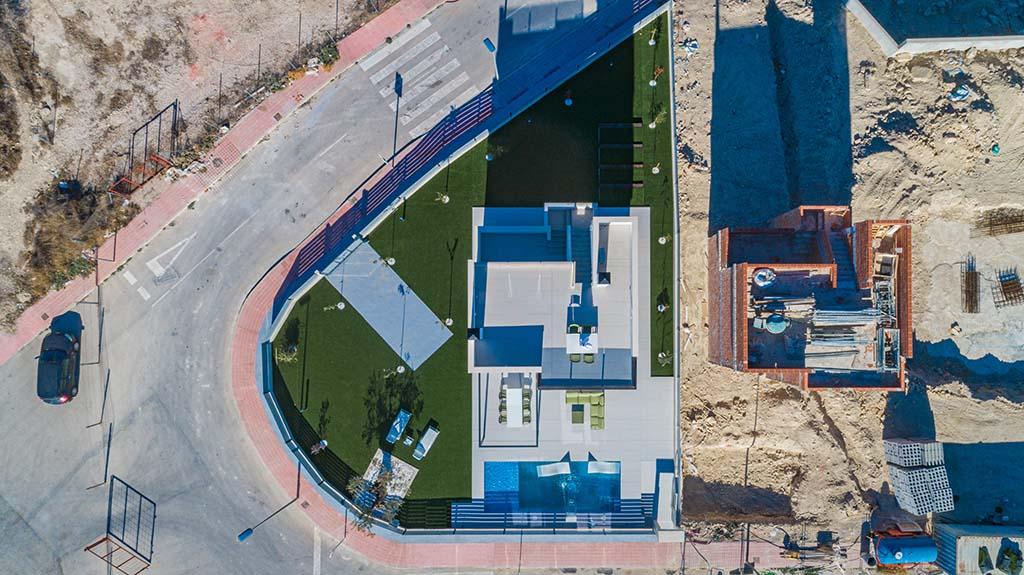 Panoramic Alicante Drone 03