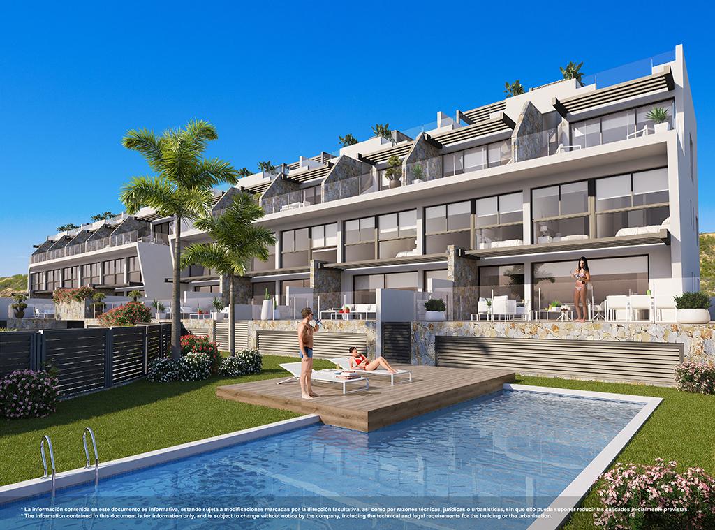 Appartementen met uitzicht op zee / Guardamar del Segura